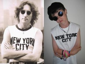 My Son as John Lennon 2012