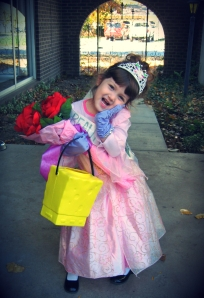 The era of fairy tales:  My sweet princess at age 4.