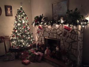 Mom's Christmas tree 2015
