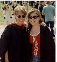 Me and Kimberly at Graduation 1997